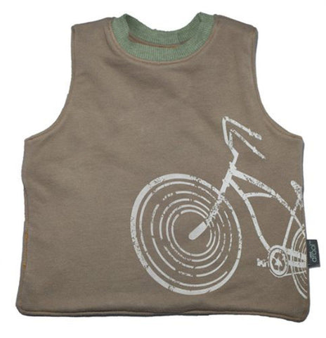 Wee Drool Bib - Waterproof Reversible T Bib -  Wee Ride
