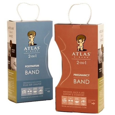 Atlas 2-in-1 Pregnancy & Postpartum Band & Cold/Warm Compress Combo Pack