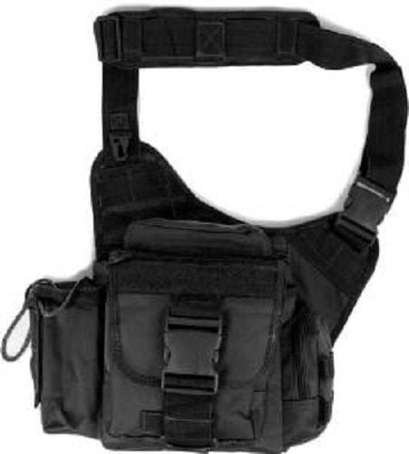 Explorer Tactical Messenger Bag, Black