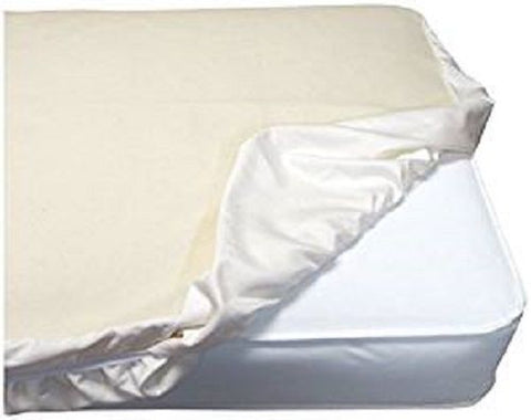 Naturepedic Organic Cotton Fitted Waterproof Crib Pad PC63W