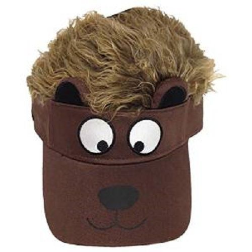 Flair Hair Bear Visor