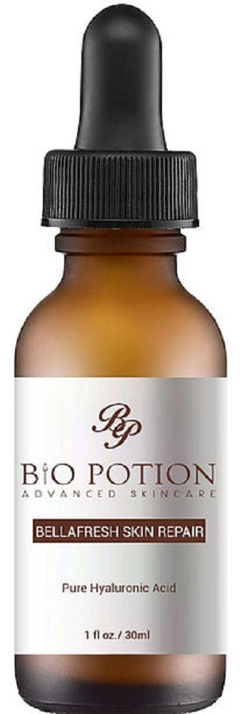 Bio Potion Hyaluronic Acid Serum for Skin 1 fl. oz. Advanced Skincare Bellafresh Skin Repair Serum