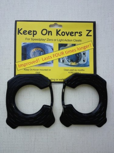 Keep on Kovers Z cleat cover for Speedplay zero or Light Action Cleats (Cleats in the photo is sold seperately)