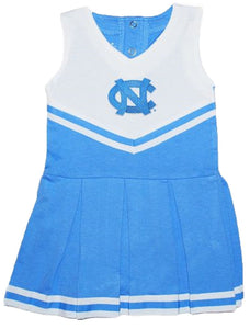 Creative Knitwear NCAA Newborn Baby Cheerleader Bodysuit Dress