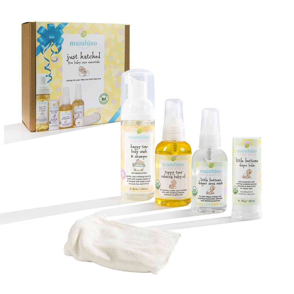 Mambino Organics- Just Hatched Baby Arrival Kit