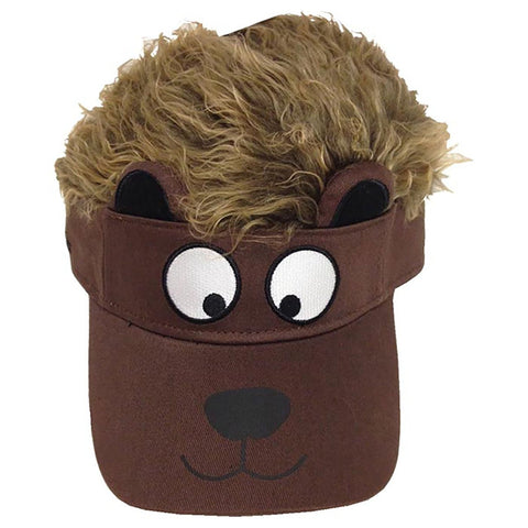 Concept One Accessories Big Boys' Flair Hair Visor Animal Face