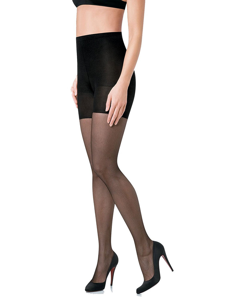 SPANX Women's Micro Fishnet Tights