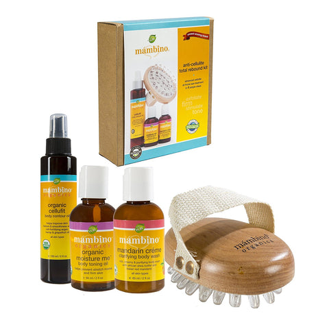 Mambino Organics Anti-Cellulite Total Rebound Kit