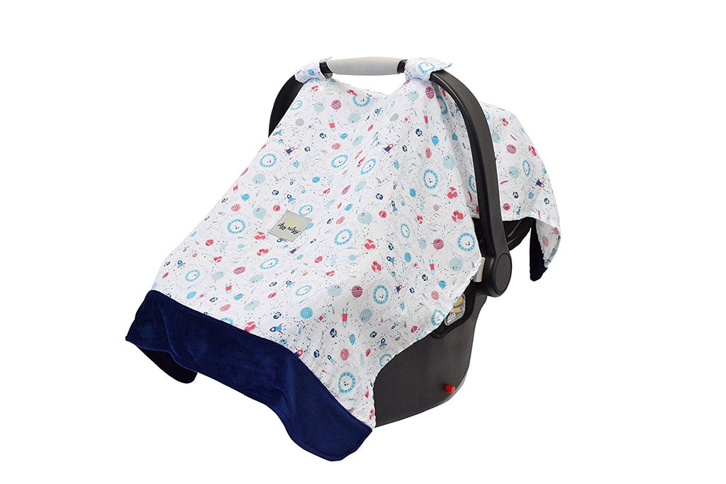 Itzy Ritzy Cozy Happens Infant Car Seat Canopy Muslin Collection