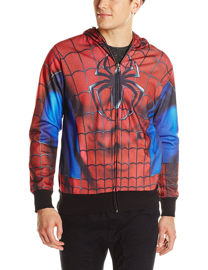 Marvel Men's Real Classic Sublimated Costume Hoodie