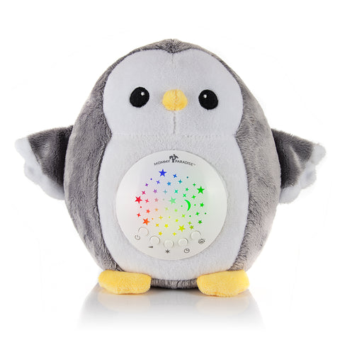 Soothing Sleep Plush Baby Owl with CRY SENSOR
