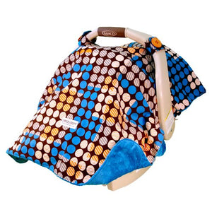Carseat Canopy Baby carseat cotton blanket cover  Aiden