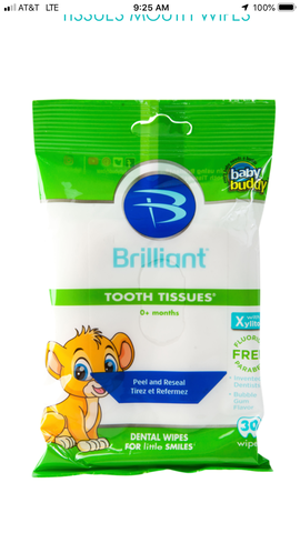 Brilliant by Baby Buddy Oral Tooth Tissues