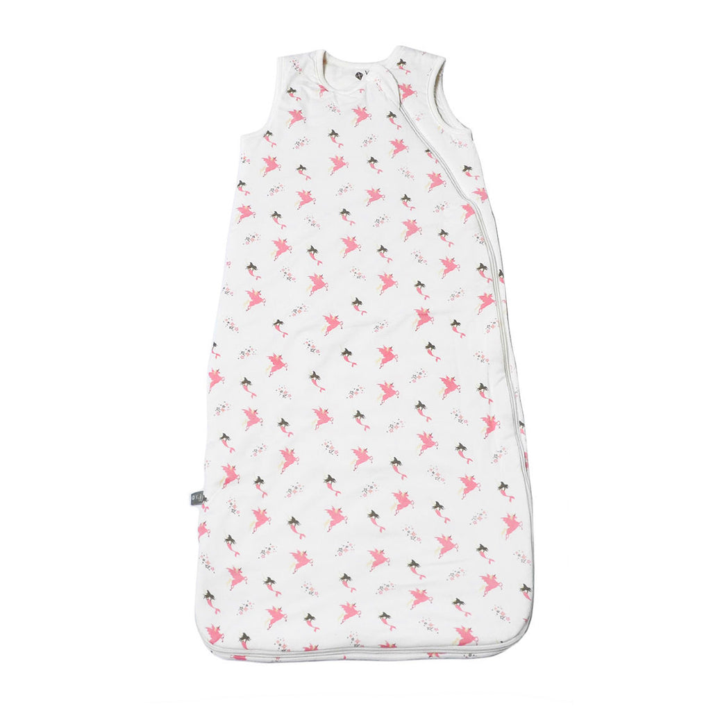 Kyte Baby Sleep Bag Mythical (Pink/White) Tog 1.0 0-6 Months