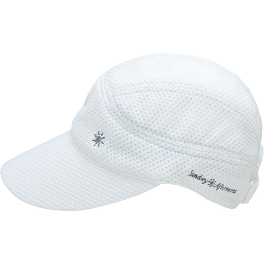 Sunday Afternoon Sprinter Cap with UPF 50+ White
