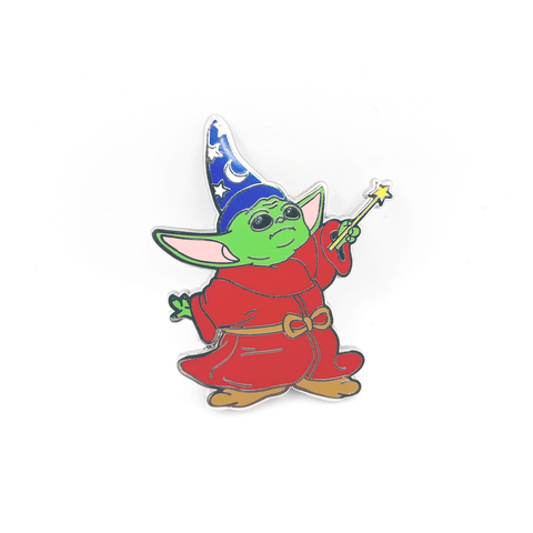 Baby Sorcerer Pin