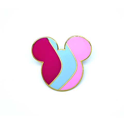 Bubblegum Mouse Pin - B-Grade