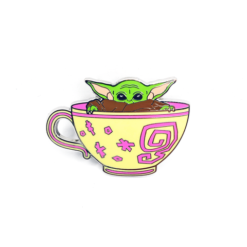 Cup of Cuteness Pin