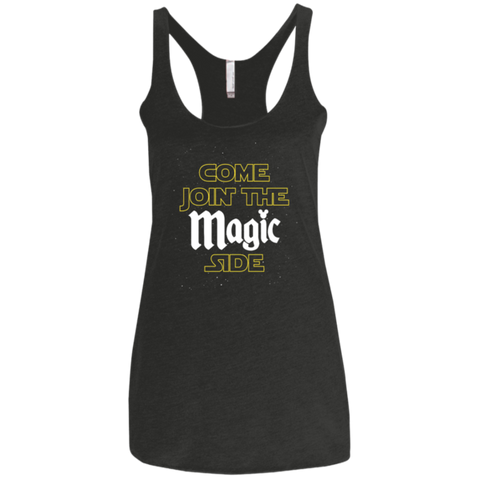 Come Join The Magic Side - Women's Racerback Tank