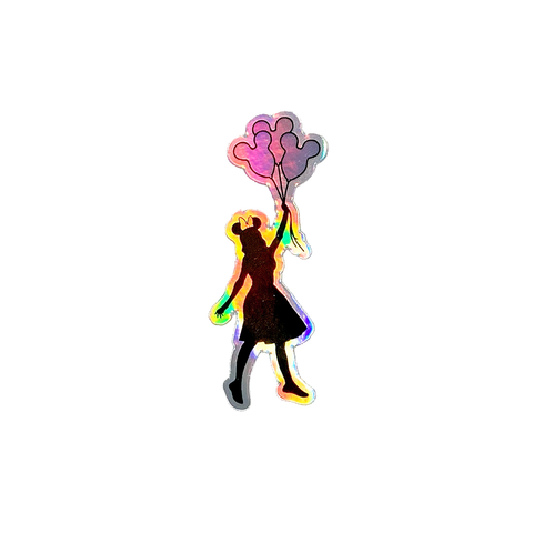Magic Balloons HOLOGRAPHIC - Sticker