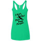 Happy Thoughts - Women's Racerback Tank