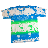 RARE VTG 90'S - TYPHOON LAGOON SPLATTER ALL OVER