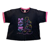 Vintage Neon Mickey Sketch Shirt - Sold