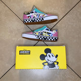 BRAND NEW Vans Old Skool 80's Mickey Mouse Checkered Shoes - Sold