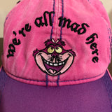 We're All Mad Here Cheshire Cat Disney Hat