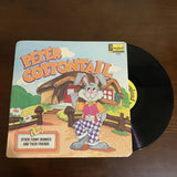 "Vintage Peter CottonTail 12"" Vinyl Record - Sold"