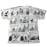 Vintage Mickey Comic Strip Shirt - Sold