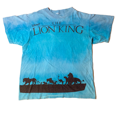 Vintage Tie Dye Lion King Shirt