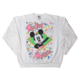 Vintage Mickey Mouse Neon Sweatshirt - Sold