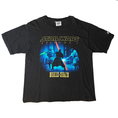 Vintage Star Wars Episode 1 Jedi VS Sith Shirt
