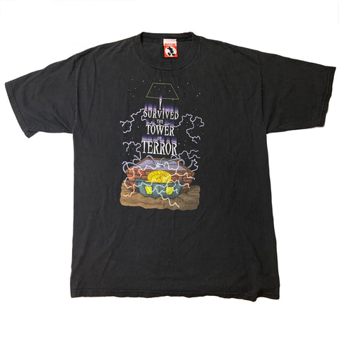 Vintage I Survived Tower Of Terror Double Sided Shirt - Sold