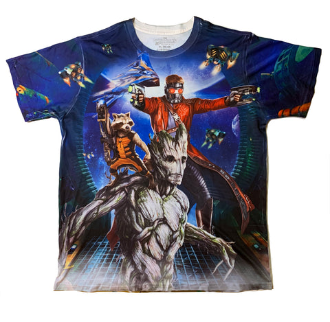 Guardians Of The Galaxy Double Sided Shirt - Sold