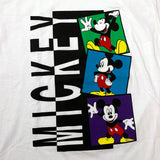 Vintage 90's Mickey Stacked Boxes Shirt Brand New W/ Tags