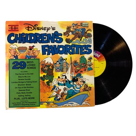 Vintage Disney's Children's Favorites Volume 2 Vinyl Record