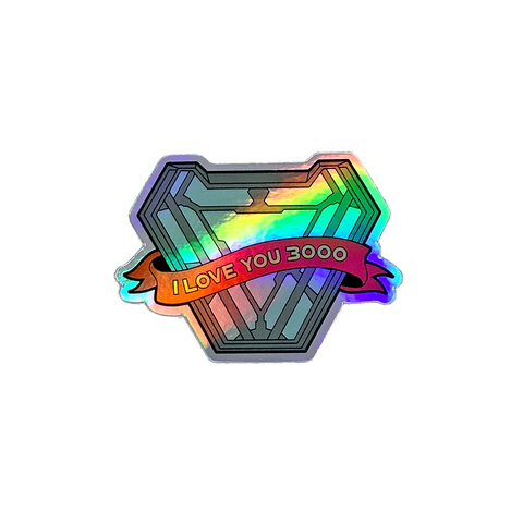 Stark Love HOLOGRAPHIC - Sticker