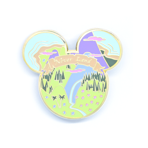 Neverland Mouse Pin - ONLY 6 LEFT