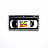 Toy Story VHS Pin (Classic Black or LE Blue) - Sold Out