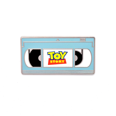 Toy Story VHS Pin LE Blue - B-Grade
