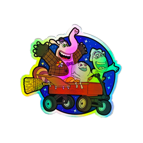 Soul Rocket - HOLOGRAPHIC - Sticker