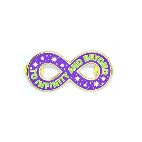 To Infinity Pin - B-Grade - Sold Out