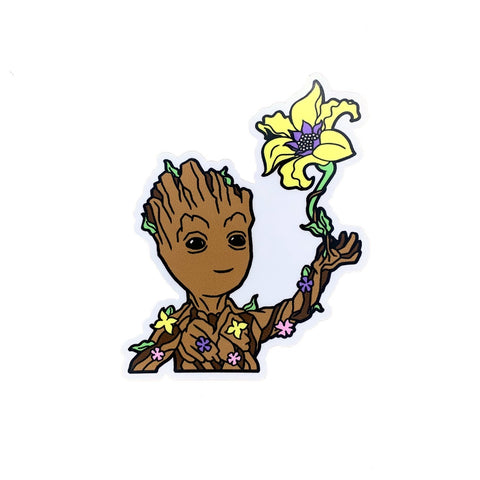 Gleam & Groot - Sticker