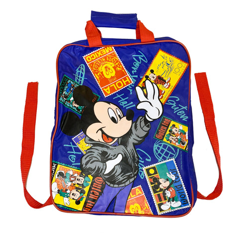 Vintage Children's Mickey World Traveler Backpack