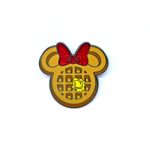 Minnie Waffle Pin B-Grade - Sold Out