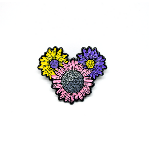 Flower Festival Pin B-Grade - ONLY 5 LEFT