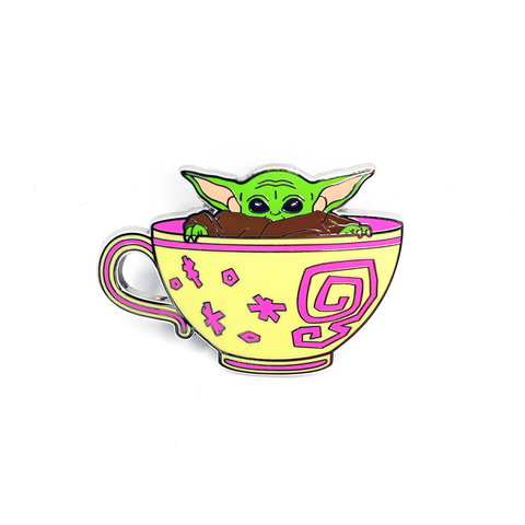 Cup of Cuteness Pin - B-Grade