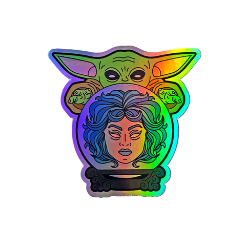 Psychic Baby - HOLOGRAPHIC - Sticker